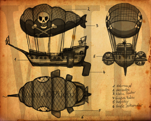 A pirate s airship by radicai edward-d3efnmi