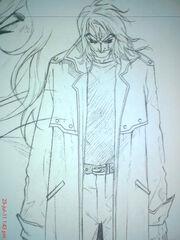 Kazu's father