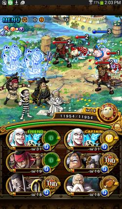 One Piece Tresure Cruise Team Builder
