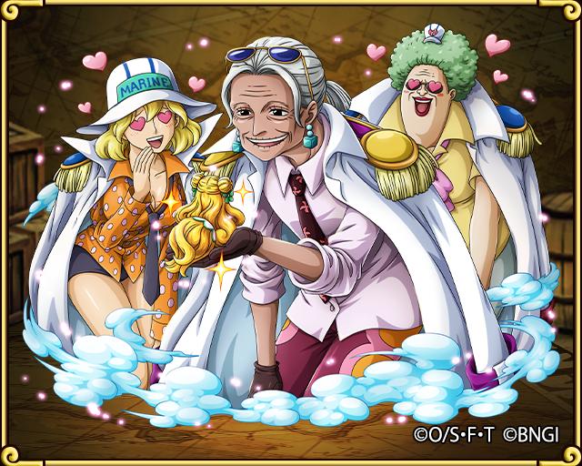 Great Advisor Tsuru Navy HQ Vice Admiral | One Piece ...