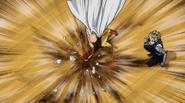 Saitama misses Bang