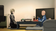 Saitama and Genos hot pot