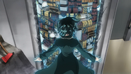 Fubuki isolating the bombs