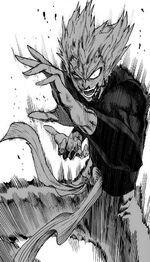 Garou in a frenzy