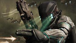 Scienc Fiction soldier