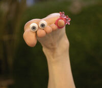 Oobi Frieda the Foot Noggin Nick Jr TV Show Series Nickelodeon Character