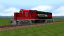 Locomotora Ferromex GP 38