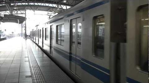 西武鉄道20000系 池袋駅到着/Seibu 20000series at Ikebukuro