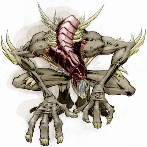 Artists vision of Full-Beast form