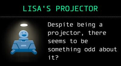 Lisa's Projector