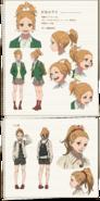 Azusa character design