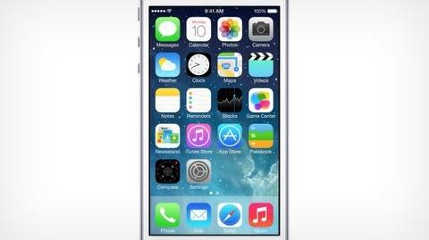 Apple - iOS 7. Coming this fall.