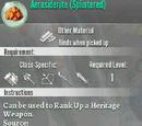 Aerosiderite Splintered