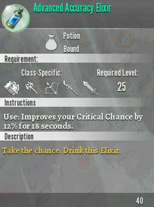 Advaced Accuracy Elixir