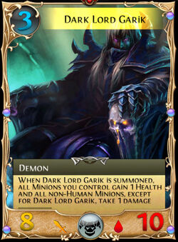Dark Lord Garik