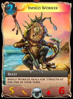 Indigo Worker