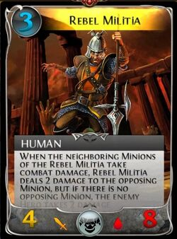 Rebel militia updated