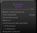 Rahjil's Staff