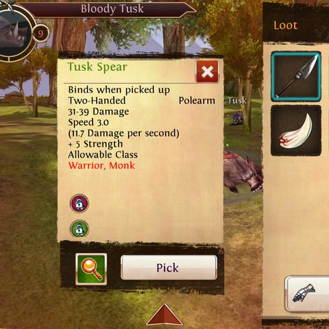Tusk Spear