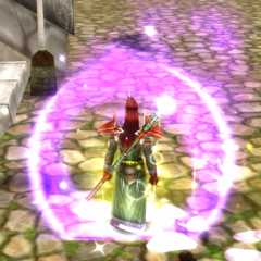 Premium Purple Flame Spirit and Crystal Spritzer effects.