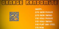 Randomite Ore (Orange)