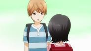 Kayomi confessing to Makoto
