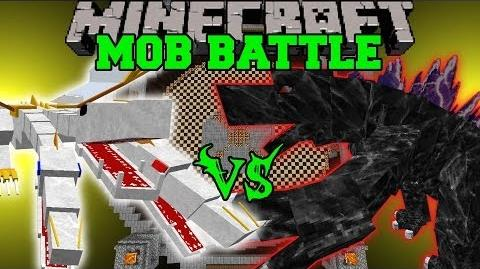 THE KING VS MOBZILLA - Minecraft Mob Battles - OreSpawn Bosses Mods