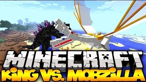 """THE KING VS MOBZILLA"" - Minecraft Mob Battles MOST POWERFUL MOBS IN MINECRAFT! (OreSpawn Mod)"