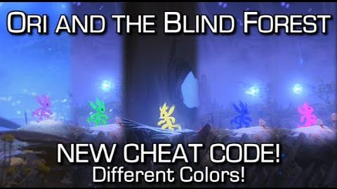 NEW Ori and the Blind Forest CHEAT CODE - Change Colors!-1485919600