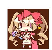 Moritaka Saori chibi