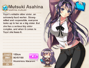 Mutsuki Asahina Album Entry