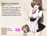 Anna Kagami Album Entry