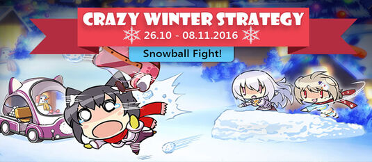Crazy Winter Strategy Banner