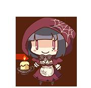 Fumiyo Ninomae (Real Horror version) chibi