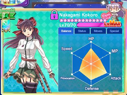 Nakagami Kokoro max balance