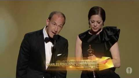 """Inside Job"" winning Best Documentary Feature"