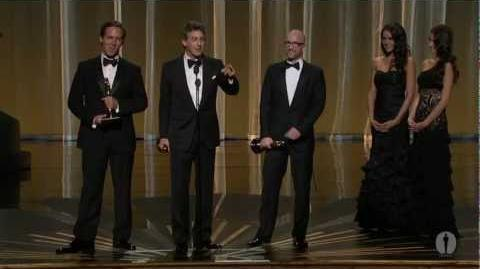 """The Descendants"" winning Best Adapted Screenplay"