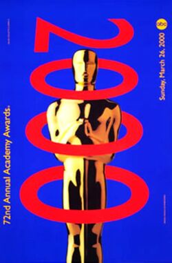 72nd Awards poster