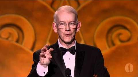 2010 Governors Awards -- Honorary Award recipient Kevin Brownlow