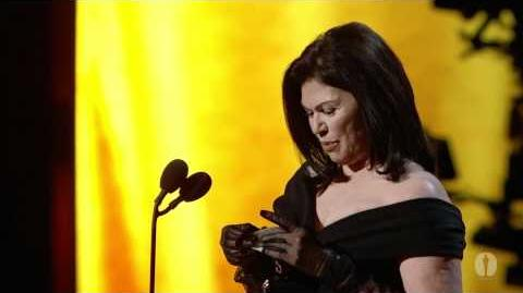"""Alice in Wonderland"" winning the Oscar® for Costume Design"