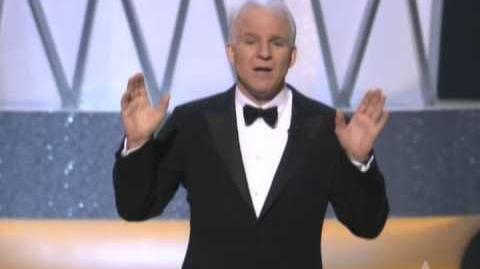 Steve Martin Hosting the Oscars® in 2003
