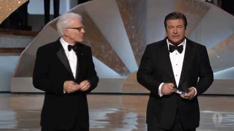 Steve Martin and Alec Baldwin hosting the Oscars®