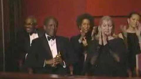 Denzel Washington Wins Best Actor 2002 Oscars