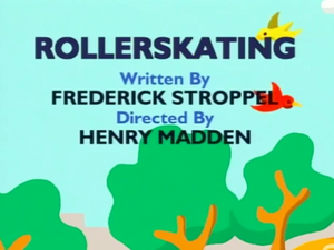 Oswald Rollerskating