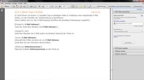 TickX für Sharepoint - V1.4 (Steuertags in E Mails)