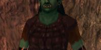 Armed Female Orc