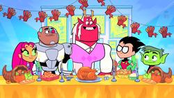 Teen Titans Thanksgiving