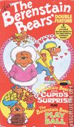 The Berenstain Bears And Cupid's Surprise And The Berenstain Bears Play Ball VHS Front Cover