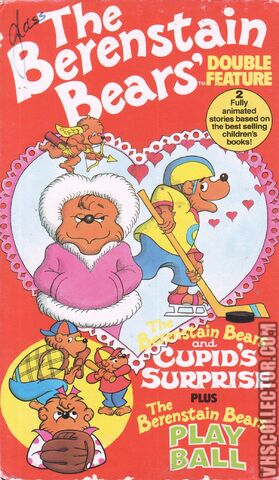 File:The Berenstain Bears And Cupid's Surprise And The Berenstain Bears Play Ball VHS Front Cover.jpg