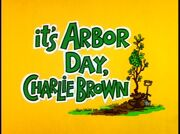 It'sArborDay,CharlieBrown